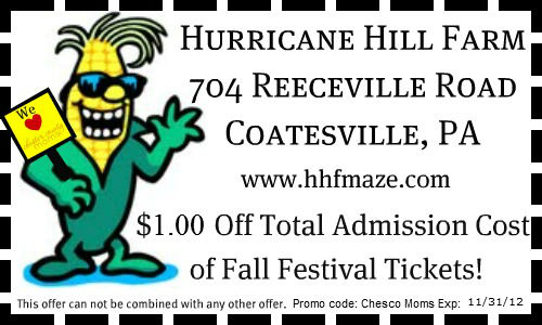 September 2012 philaburban mom coupon for admission to hurricane hill farm fandeluxe Images